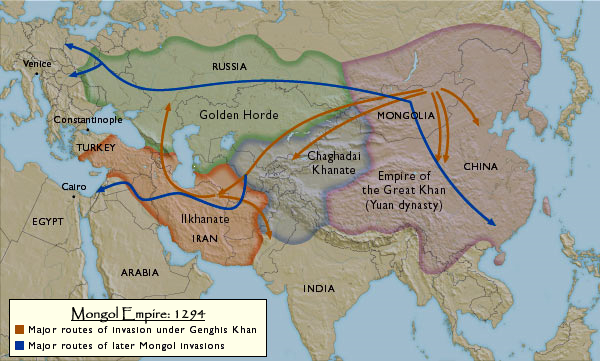 a history of the mongol empire and genghis khan
