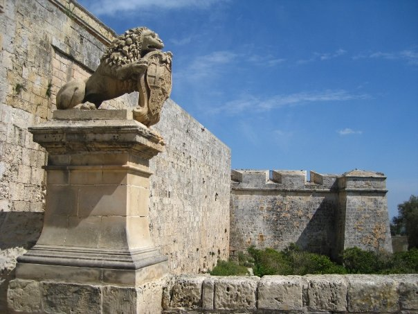 The Walls of Mdina, Malta